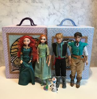 Lot Of Dolls And Accessories For Sale