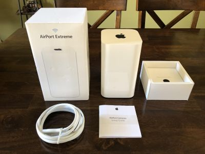 Apple AirPort Extreme Wireless Router Base Station Wi-Fi WiFi Internet