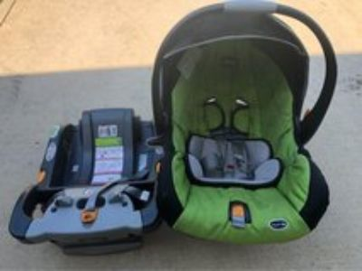 Chico keyfit 30 car seat + base + clip in stroller