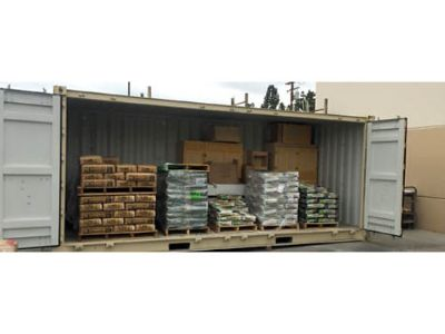 NEW (ONE TRIP), 20' OPEN SIDE CONTAINER, ...