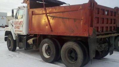 1985 GMC Brigadier Dump Truck