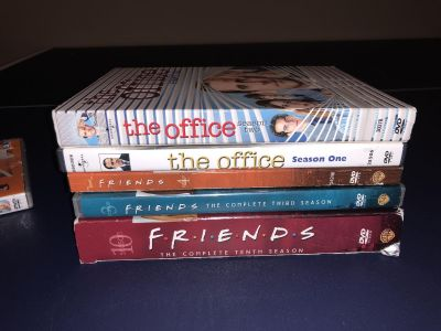 2 seasons of friends and 2 seasons of the office