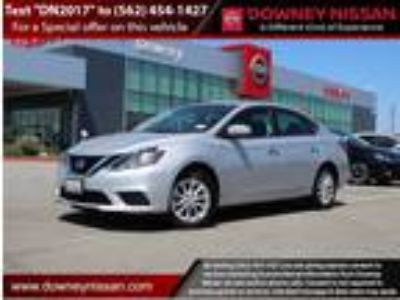 Used 2017 Nissan Sentra Brilliant Silver, 9.22K miles