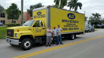 ALEX MOVING & DELIVERY INC.. 305-302-9054