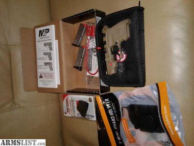 For Sale: REDUCED!!! NIB S&W FDE Bodyguard 380 w-CTC Laser + extras