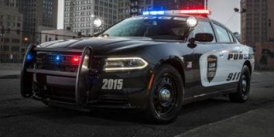2018 Dodge Charger Police (Bright Silver Clearcoat Metallic)
