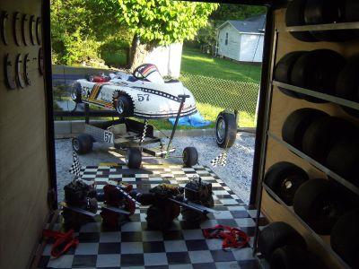 Professional racing go kart