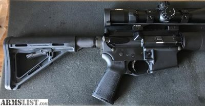 For Sale: AR with Nikon scope