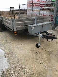 2004 Chilton TT8470-17 Utility Trailers Francis Creek, WI