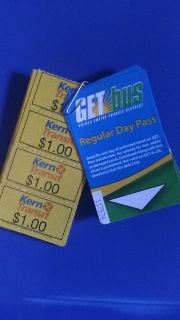 Kern County : Single/Day, Bus Tickets