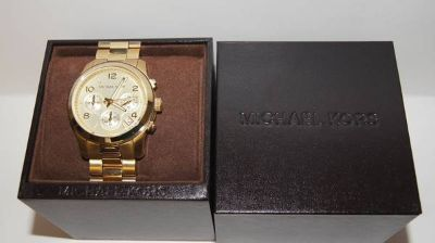MICHAEL KORS MK5055 - LADIES GOLD WATCH