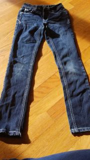 Justice size 8s skinny Jean's guc
