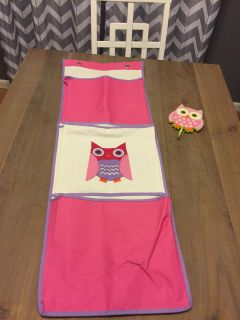 Owl organizer with hook PLUS FREEBIE STICKERS SEE PICS