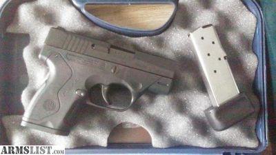 For Sale: NIB Beretta Nano 9mm