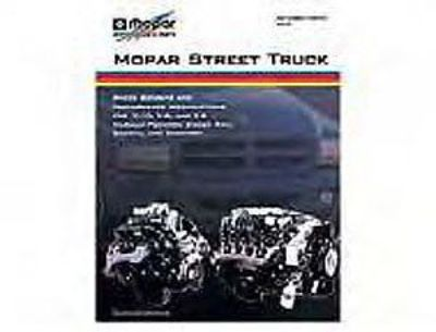 Buy Mopar Performance P5007522AB Mopar Street Truck Book motorcycle in Delaware, Ohio, United States, for US $31.99