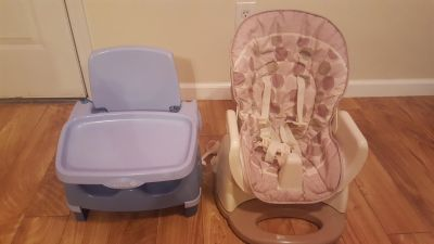 Lot of 6 baby gear items