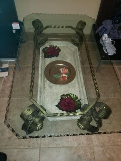Antique One-of-a-kind coffee table