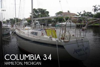 1971 Columbia 34 Mark II