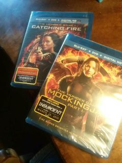 The Hunger Games Blu-ray DVD combo