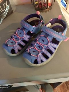Girls sneakers sandals size 2