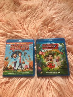 Coudy with a chance of meatballs 1 and 2