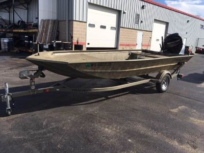 2016 Tracker Grizzly 1754 MVX Jon Jon Boats Appleton, WI
