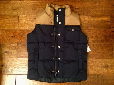 Quilted Vest -NWT