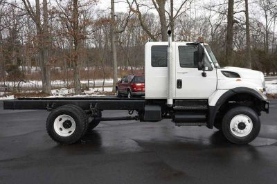 8637 - 2012 International Workstar Ext Cab 4x4 Cab & Chassis