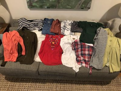 Lot of medium and small tops/sweaters/jacket