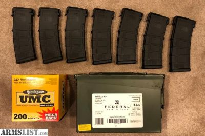 For Sale: Magpul PMAG M3, AR 30rds X 7