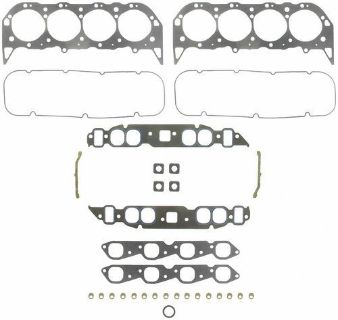 Buy Fel-Pro Marine FULL Gasket Set Mercruiser/Chevy 454/7.4 GEN VI w/OVAL Intake motorcycle in Memphis, Tennessee, United States, for US $268.17