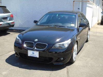 2008 BMW 5-Series 550i (Jet Black)