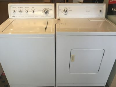 Washer and Dryer Sets / Pairs - USED
