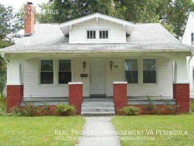 Single Home in Hampton historica area for Rent