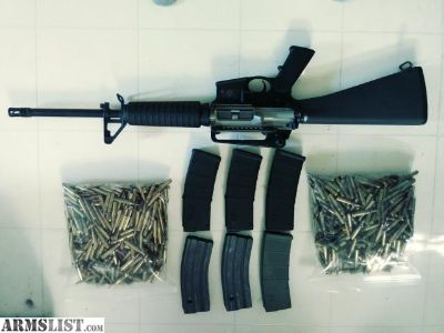 For Sale: S & W M & P 15 5.56/223 + 6 mags and ammo.