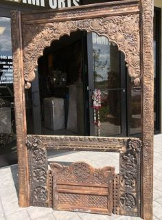 Antique Window Frame Jharokha Arch Vintage Wall Decor