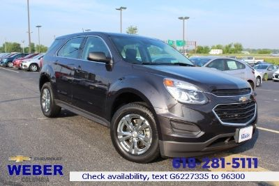 2016 Chevrolet Equinox LS (Tungsten Metallic - Gray)