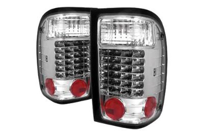 Purchase Spyder FR98C Ford Ranger Chrome Euro Tail Lights Rear Stop Lamps w LEDs motorcycle in Rowland Heights, California, US, for US $176.88