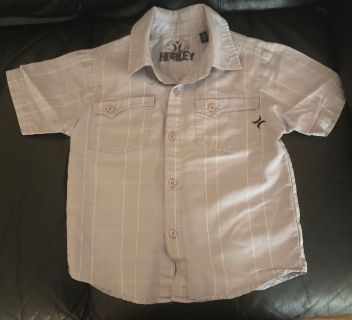 Boys Hurley dress shirt size 4