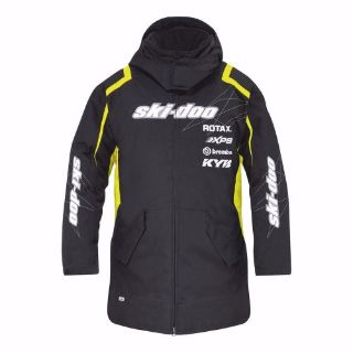 Find SKIDOO SKI DOO Can Am Warm up Jacket Snowmobile BRP 4406840096 pit jacket O/S motorcycle in Anoka, Minnesota, United States, for US $187.99
