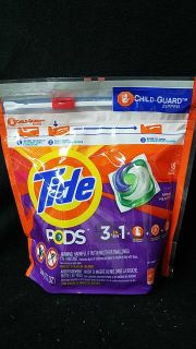 Tide pods 3 in 1 laundry detergent 16 count