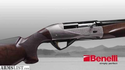 "For Sale: Benelli Ethos 28"" 12ga Engraved Nickel NIB"