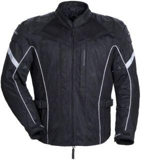 Buy Tourmaster Sonora Air Black 3XL Tall Mesh Motorcycle Riding Jacket XXXLT 3XLT motorcycle in Ashton, Illinois, US, for US $215.99