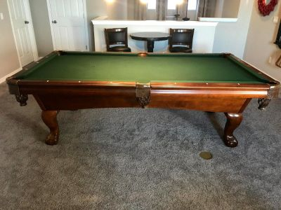 Beautiful American Heritage Pool Table