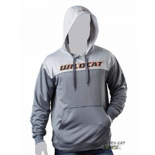 Buy Arctic Cat Men's Wildcat Performance Hoodie Orange - Gray - ATV UTV - 5258-83_ motorcycle in Sauk Centre, Minnesota, United States, for US $28.99