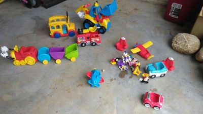 Lot of Mickey Mouse Toys