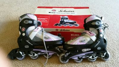 Schwinn Girls/youth Adjustable Roller Blades