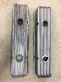 Cal Custom valve covers Chevy SBC