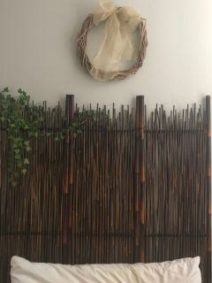 Bamboo Room Divider OR Headboard