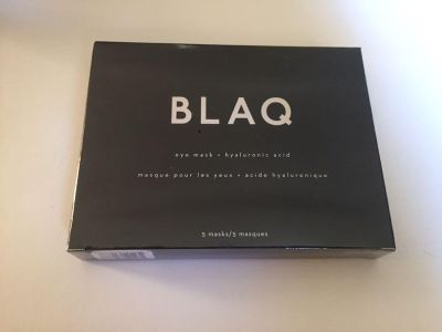 Great for puffy or BLAQ HYDROGEL EYE MASK (5) - NEW in box. Great for puffy or swollen eyes